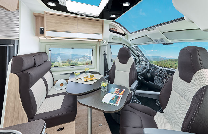 Autocaravan Dreamer D55 Exclusive - Salotto